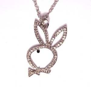 Playboy fashion Diamante Necklace Girl Lady